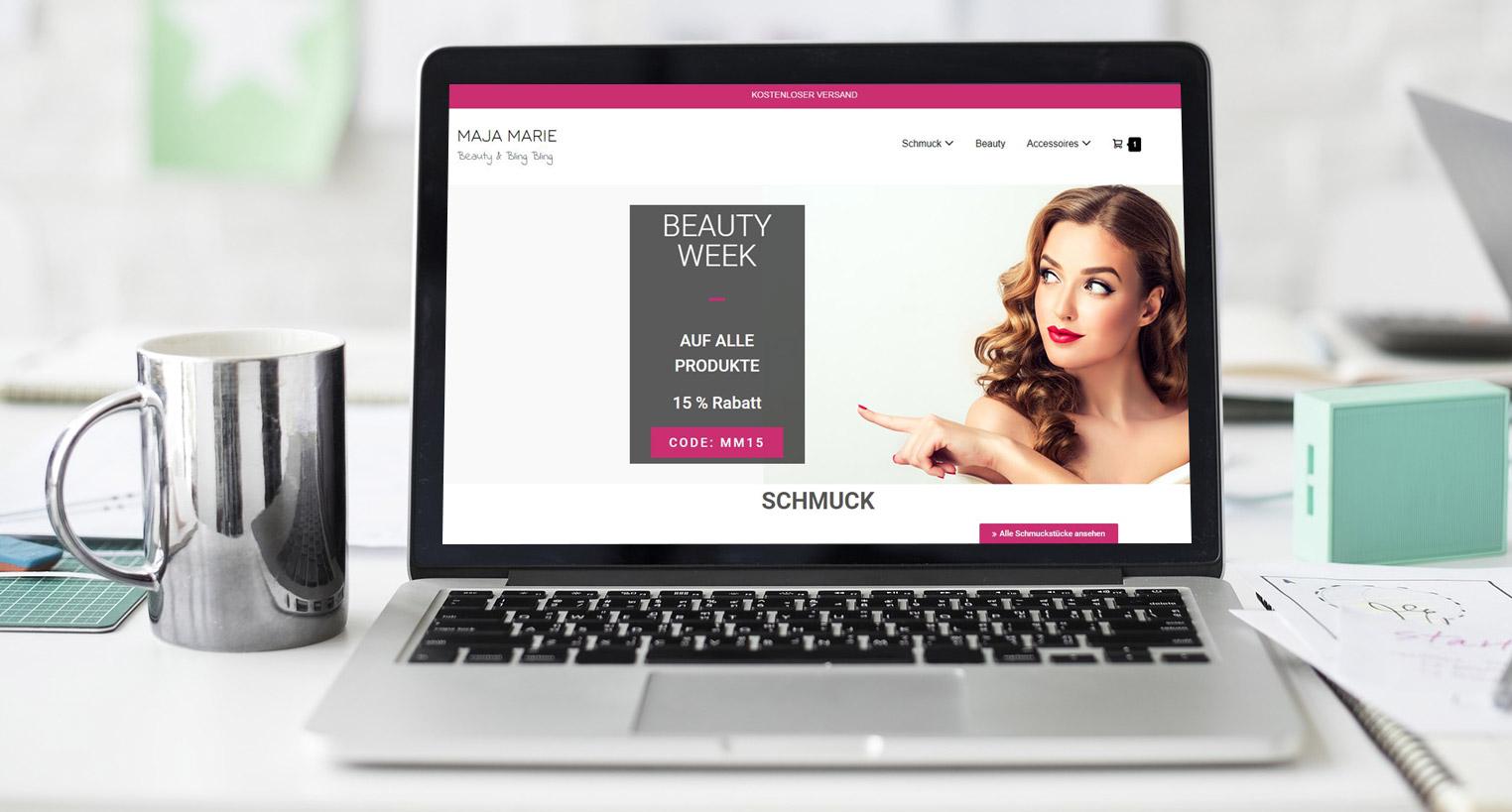 Referenz Online Shop Ecommerce Kraichtal